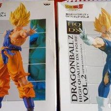 Figuras y Muñecos Manga: DBZ SON GOKU Y MAJIN VEGETA SET 2008/09. Lote 165439658