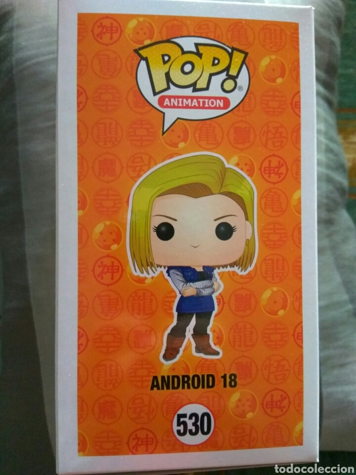 Figuras y Muñecos Manga: figura Funko Pop Android 18 Dragon ball Z - Foto 3 - 165697468
