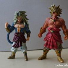 Figuras y Muñecos Manga: LOTE 2 FIGURAS DRAGON BALL SUPER SAIYAN 5 BROLY SHOKUGAN SHODO BST 2009 BOLA DE DBZ GT. Lote 206863903