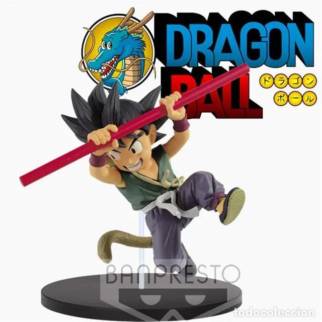 DRAGON BALL SON GOKU NIÑO LUCHA FIGURA 16 CM SON GOKU (Juguetes - Figuras de Acción - Manga y Anime)