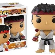 Figuras y Muñecos Manga: RYU FIGURA 10 CM VINYL POP GAMES STREET FIGHTER. Lote 167981956