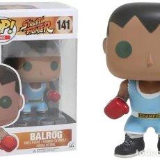 Figuras y Muñecos Manga: BALROG FIGURA 10 CM VINYL POP GAMES STREET FIGHTER. Lote 167982248