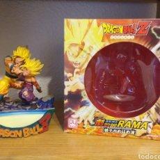 Figuras y Muñecos Manga: DIORAMA DRAGON BALL Z GOKU Y SON GOHAN. Lote 168001300