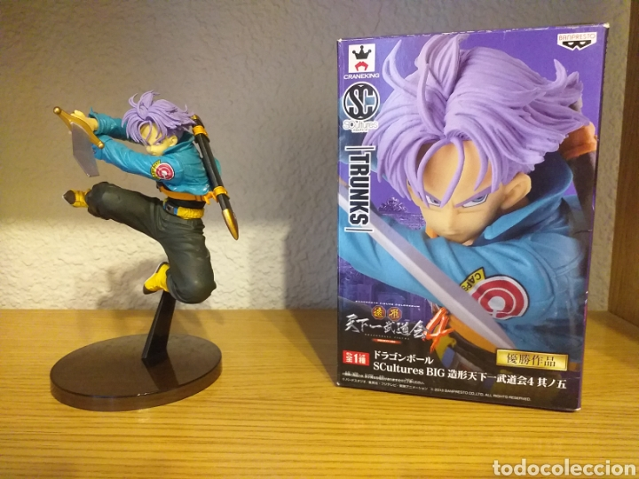 FIGURA TRUNKS COLOSSEUM VOL.4 (Juguetes - Figuras de Acción - Manga y Anime)