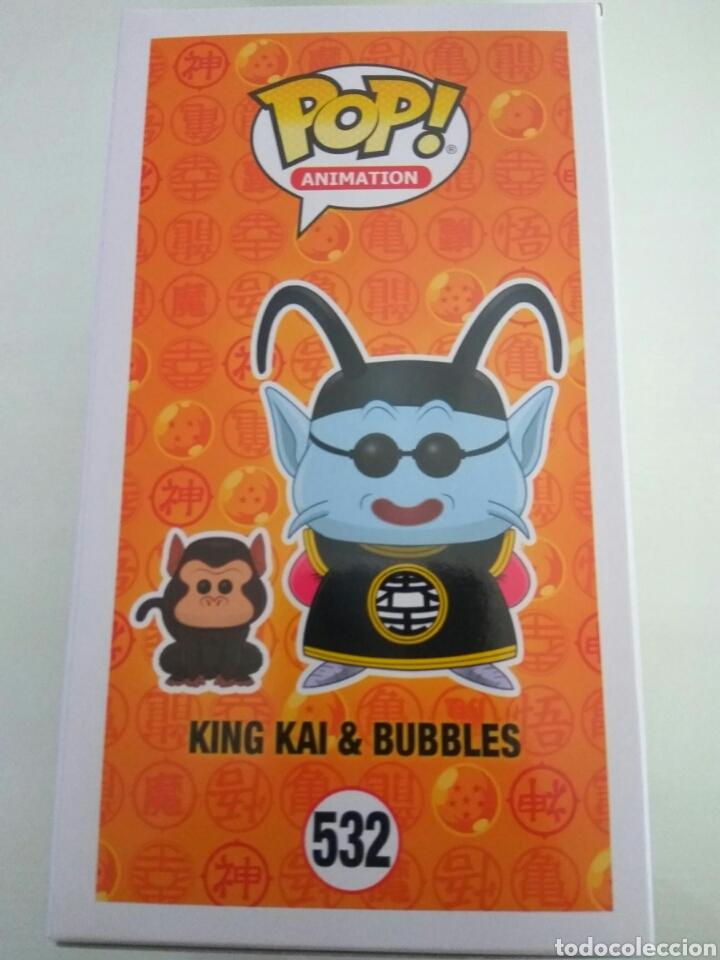 Figuras y Muñecos Manga: Figura Funko Pop King Kai y Bubbles Dragon ball Z - Foto 2 - 168202136