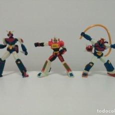 Figuras y Muñecos Manga: CONJUNTO DE 3 ROBOTS O MECHAS: COMBATTLER V, DAIMOS, Y VOLTUS V.. Lote 168461688