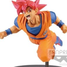 Figuras y Muñecos Manga: DRAGON BALL SUPER SON GOKU SUPER SAIYAN GOD FIGURA. Lote 169171076