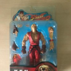 Figuras y Muñecos Manga: FIGURA STREET FIGHTER KEN VARIANTE SOTA TOYS COMPLETO. Lote 169219332