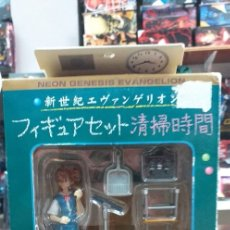 Figuras y Muñecos Manga: ASUKA EVANGELION COLEGIALA CLASE LIMPIEZA. Lote 172540520