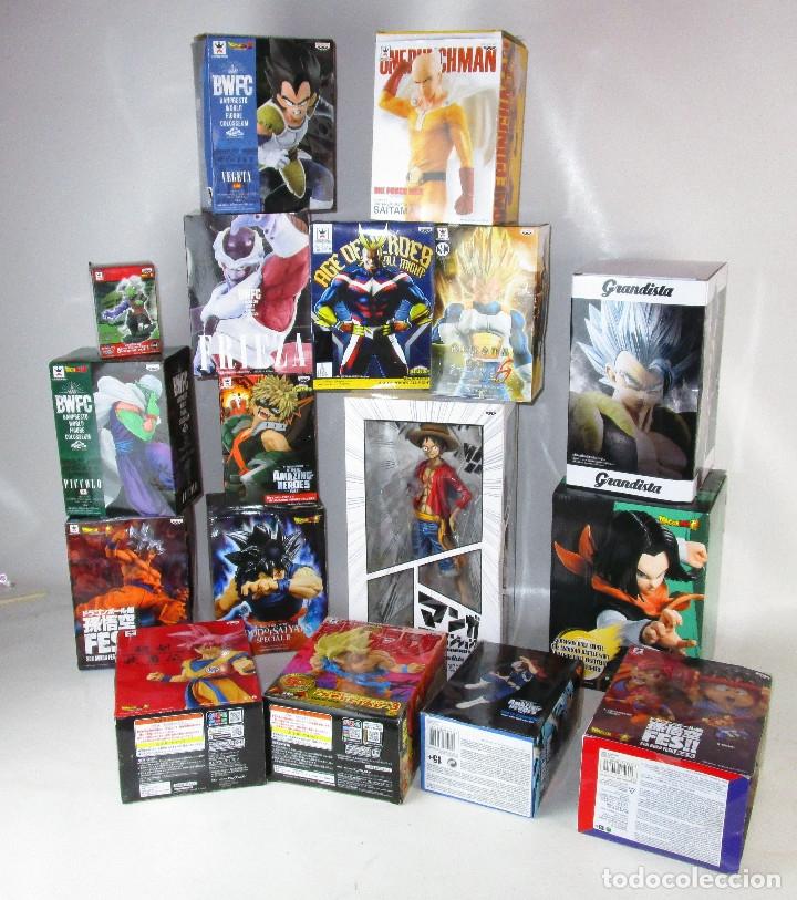 SUPER LOTE MANGA DRAGON BALL Y MAS 17 FIGURAS (Juguetes - Figuras de Acción - Manga y Anime)