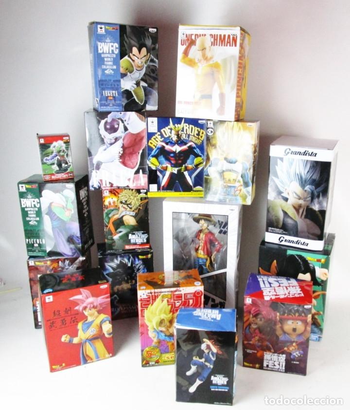 Figuras y Muñecos Manga: SUPER LOTE MANGA DRAGON BALL Y MAS 17 FIGURAS - Foto 2 - 172611689