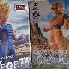 Figuras y Muñecos Manga: DBZ, GOKU AND VEGETA MASTER STARS PIECE. Lote 172671353