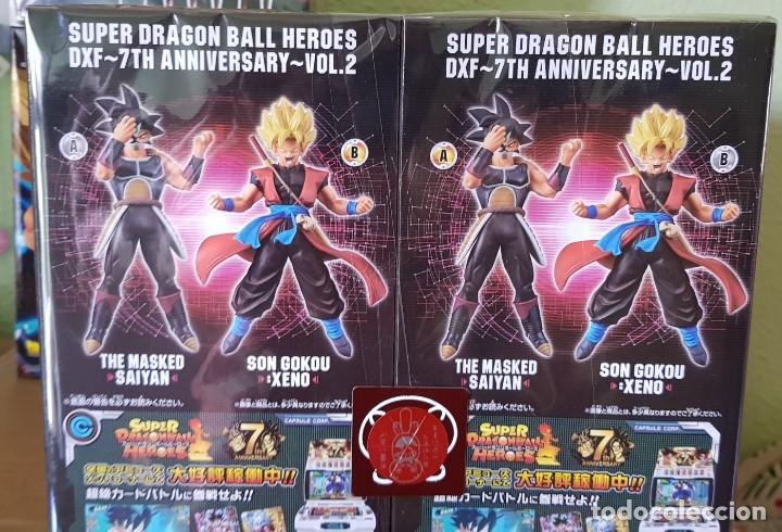 Figuras y Muñecos Manga: SUPER DRAGON BALL , SON GOKU XENO-MASKED SAIYAN HEROES DXF 7 TH ANVIVERSARIO 2018 NUEVAS - Foto 8 - 172983264