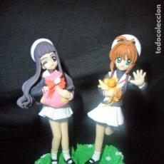 Figuras y Muñecos Manga: SAKURA CARDCAPTOR - LOTE DE 2 FIGURAS - BANDAI . Lote 175213630