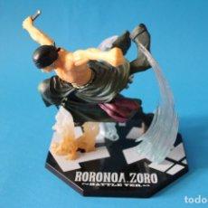 Figuras y Muñecos Manga: FIGURA ONE PIECE - ZORO RORONOA - BATTLE VERSION - BANDAI . Lote 176132069