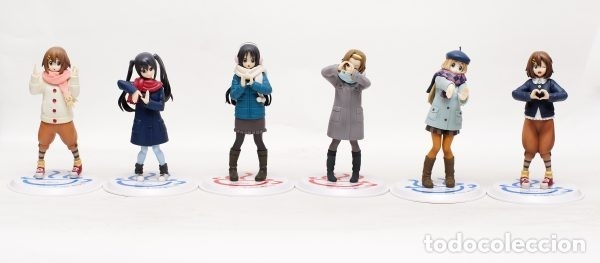 Figuras y Muñecos Manga: K-ON LONDON 6 FIGURAS DXF - Foto 2 - 176249515