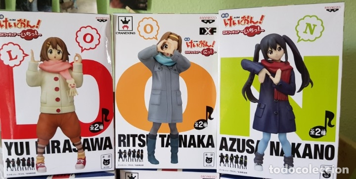Figuras y Muñecos Manga: K-ON LONDON 6 FIGURAS DXF - Foto 10 - 176249515