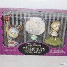 Figuras y Muñecos Manga: TIM BURTOM . TRAGIG TOYS FOR GIRLS AND BOYS -PESADILLA ANTES DE NAVIDAD - 2003. Lote 176509638