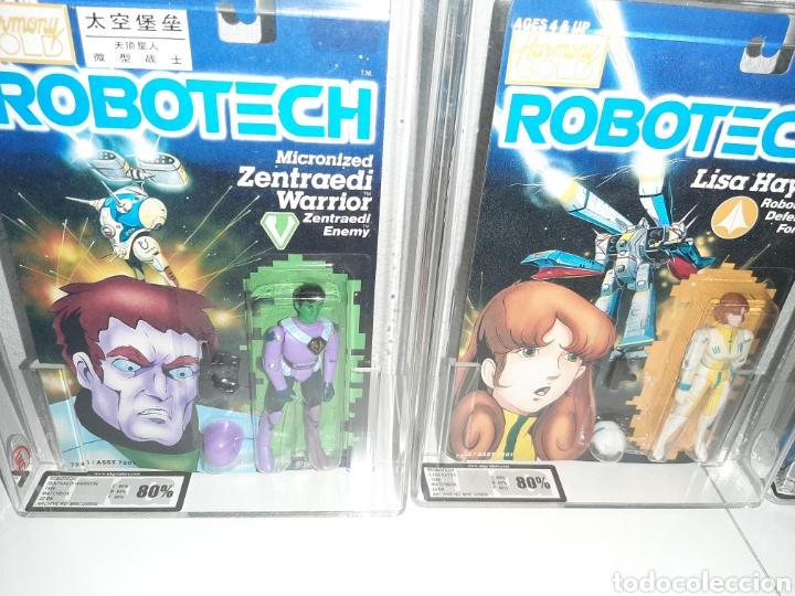 Figuras y Muñecos Manga: ROBOTECH AFA UKG MEGA LOTE 7 MOC BLISTER FIGURAS GRADUADAS MAX LISA RAND DANA ROOK ZOR - Foto 3 - 176542113