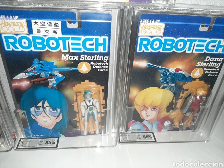 Figuras y Muñecos Manga: ROBOTECH AFA UKG MEGA LOTE 7 MOC BLISTER FIGURAS GRADUADAS MAX LISA RAND DANA ROOK ZOR - Foto 4 - 176542113