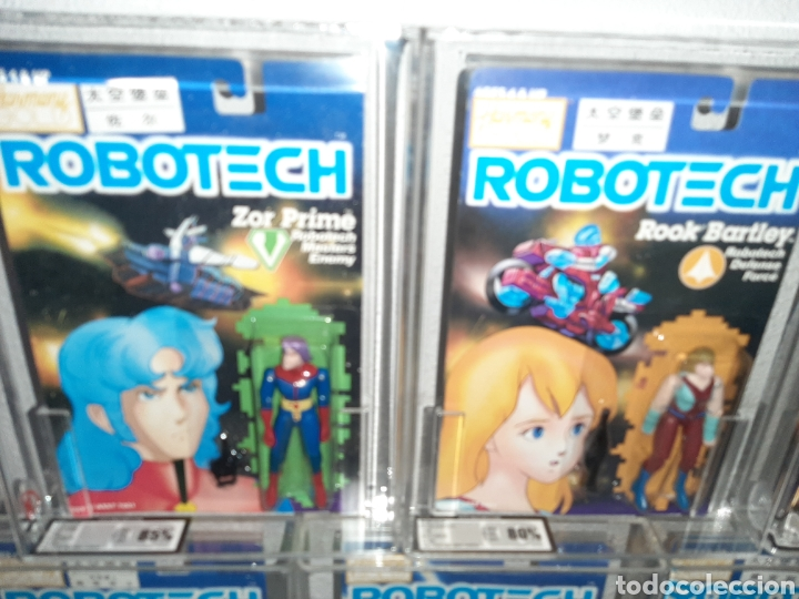 Figuras y Muñecos Manga: ROBOTECH AFA UKG MEGA LOTE 7 MOC BLISTER FIGURAS GRADUADAS MAX LISA RAND DANA ROOK ZOR - Foto 5 - 176542113