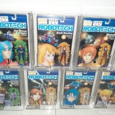 Figuras y Muñecos Manga: ROBOTECH AFA UKG MEGA LOTE 7 MOC BLISTER FIGURAS GRADUADAS MAX LISA RAND DANA ROOK ZOR. Lote 176542113