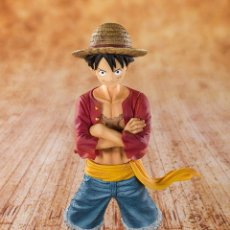Figuras y Muñecos Manga: ONE PIECE LUFFY STRAW HAT 14 CM FIGUARTS ZERO. Lote 177192837