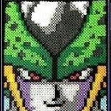 Figuras y Muñecos Manga: DRAGON BALL Z PERFECT CELL HAMA BEADS - FIGURA CÉLULA DBZ. Lote 178308968