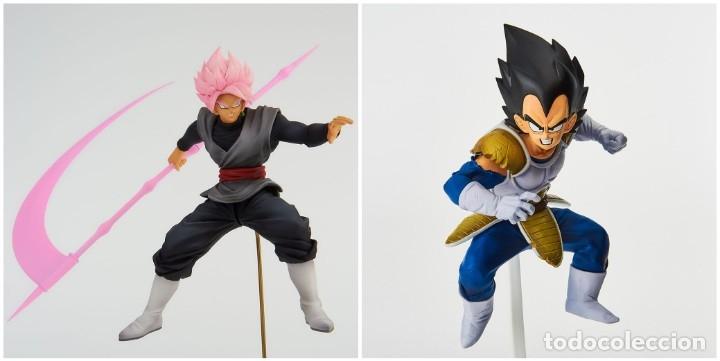 Figuras y Muñecos Manga: DBZ, VEGETA y GOKU-BLACK BWFC 2019 - Foto 3 - 178324910