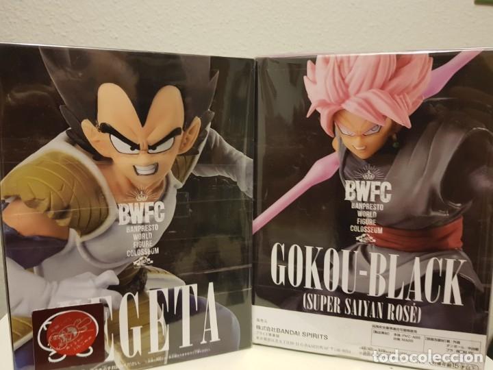 Figuras y Muñecos Manga: DBZ, VEGETA y GOKU-BLACK BWFC 2019 - Foto 4 - 178324910