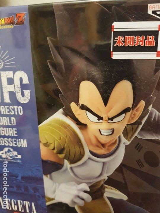 Figuras y Muñecos Manga: DBZ, VEGETA y GOKU-BLACK BWFC 2019 - Foto 6 - 178324910