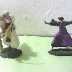 Figuras y Muñecos Manga: LOTE DE DOS FIGURAS DE INUYASHA, MIROKU Y SESSHOMARU. Lote 178791027