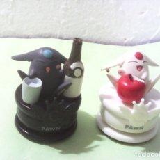 Figuras y Muñecos Manga: LOTE DE DOS FIGURAS DEL AJEDREZ CLAMP MOKONAS. Lote 178791458