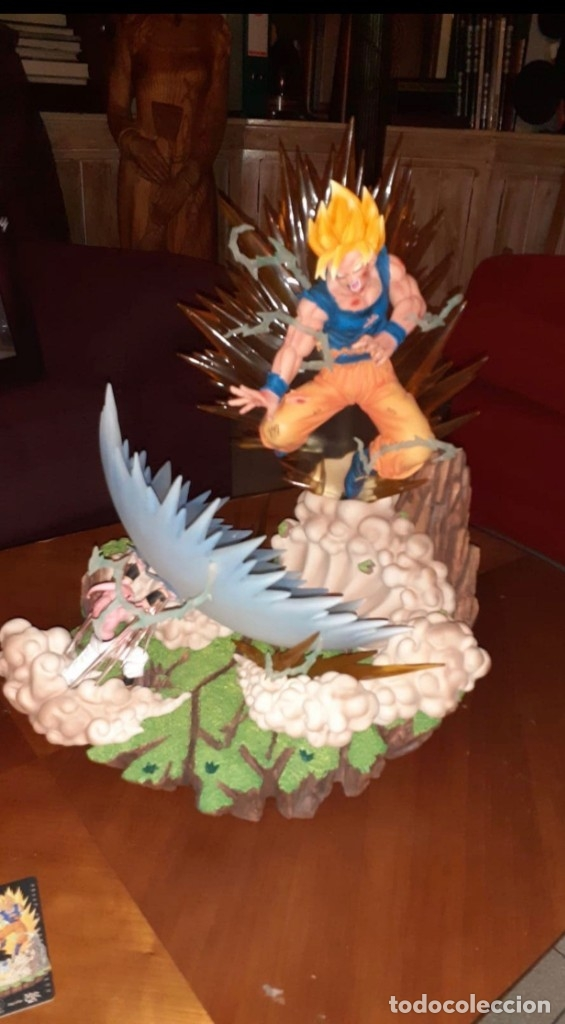 GOKU THE FINALE GOKU VS BUU ED.LIMITADA A 300 FIGURAS (Juguetes - Figuras de Acción - Manga y Anime)