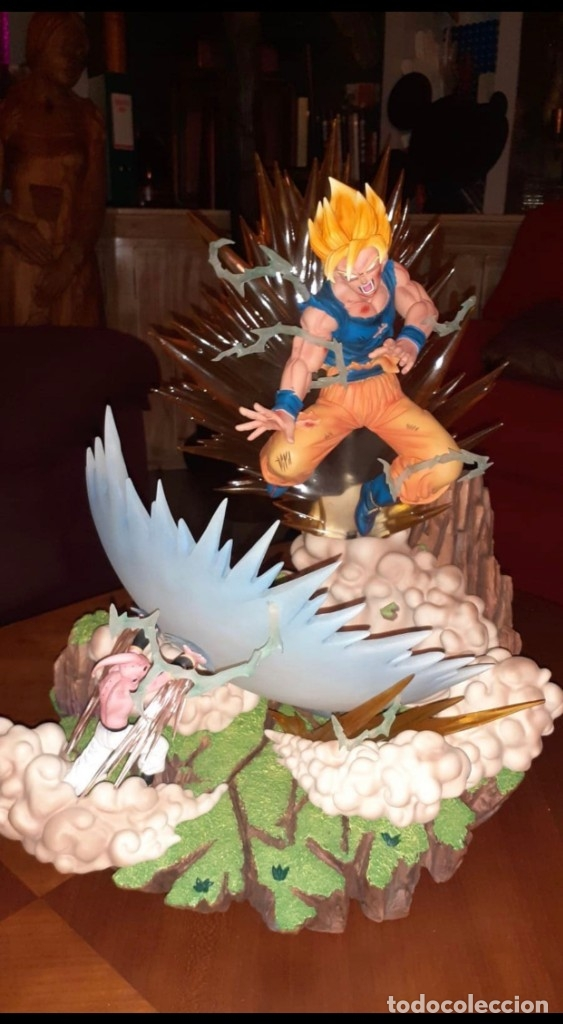 Figuras y Muñecos Manga: goku the finale goku vs buu ed.limitada a 300 figuras - Foto 3 - 181157523