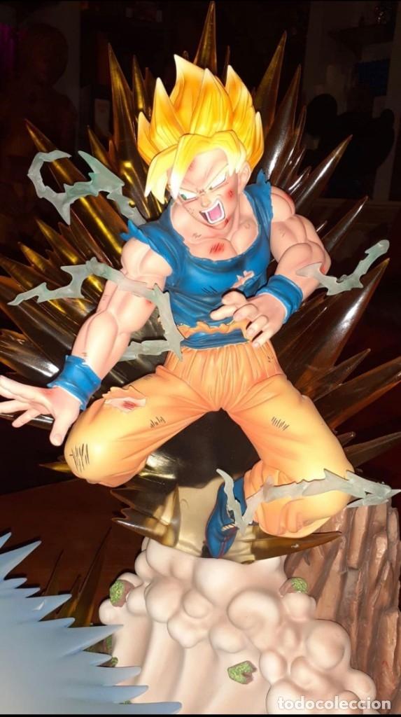 Figuras y Muñecos Manga: goku the finale goku vs buu ed.limitada a 300 figuras - Foto 5 - 181157523