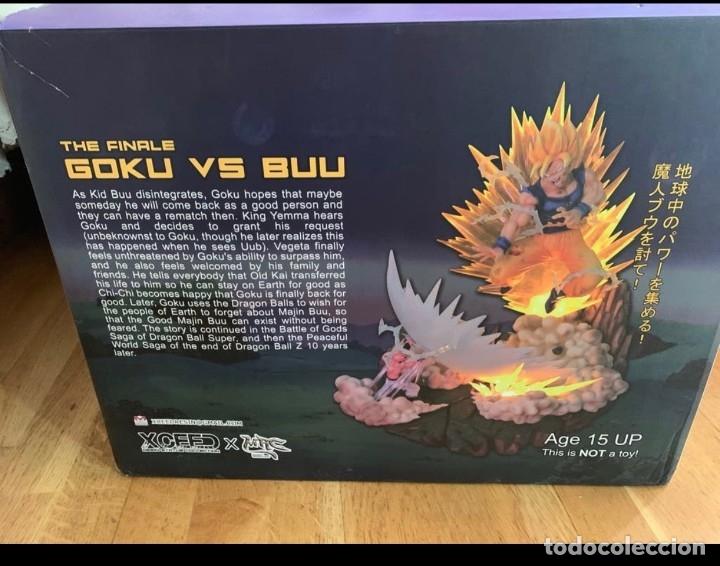 Figuras y Muñecos Manga: goku the finale goku vs buu ed.limitada a 300 figuras - Foto 8 - 181157523