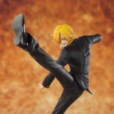 Figuras y Muñecos Manga: ONE PIECE SANJI BLACK LEG FIG 13 CM FIGUARTS ZERO. Lote 182826288