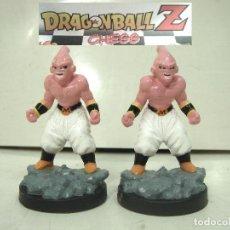 Figurines et Jouets Manga: DRAGON BALL CHESS - 2X PEONES NEGROS - AJEDREZ PIEZA FICHA PEON NEGRA Z -BOLA DE. Lote 228106525