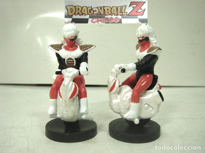 DRAGON BALL CHESS - 2X CABALLOS NEGROS - AJEDREZ PIEZA FICHA CABALLO NEGRA Z BOLA DE (Juguetes - Figuras de Acción - Manga y Anime)