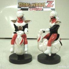 Figuras y Muñecos Manga: DRAGON BALL CHESS - 2X CABALLOS NEGROS - AJEDREZ PIEZA FICHA CABALLO NEGRA Z BOLA DE . Lote 183643126