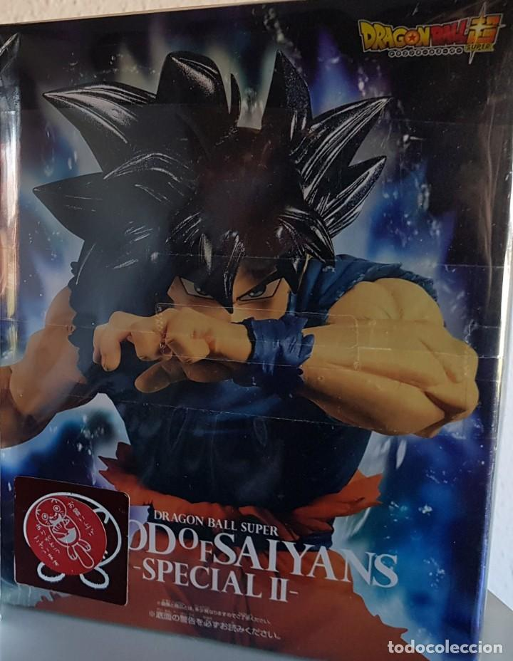 Figuras y Muñecos Manga: DB SUPER, GOKU ULTRAINSTO BLOOD OF SAIYANS 2019 ( NUEVA) - Foto 5 - 179077323