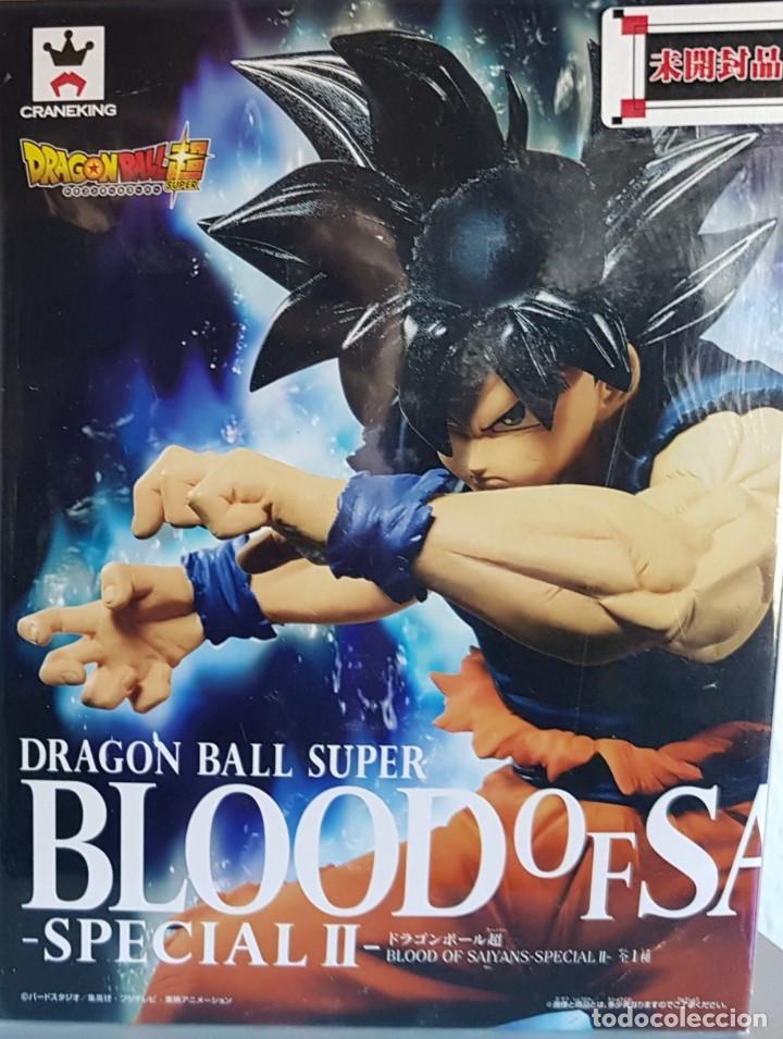 Figuras y Muñecos Manga: DB SUPER, GOKU ULTRAINSTO BLOOD OF SAIYANS 2019 ( NUEVA) - Foto 2 - 179077323