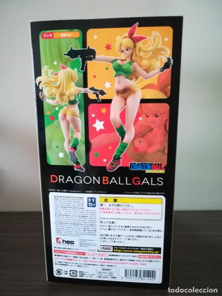 Figuras y Muñecos Manga: LUCHI DRAGON BALL GALS 19 cm. 2016 - Foto 3 - 186437006