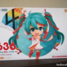 Figuras y Muñecos Manga: MIKU RACING NENDOROID 636 10CM. 2016. Lote 186439842