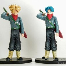 Figuras y Muñecos Manga: 2 FIGURAS DRAGON BALL TRUNKS SUPER SAIYAN - DRAGON BALL Z - 17CM - NUEVO. Lote 187328166