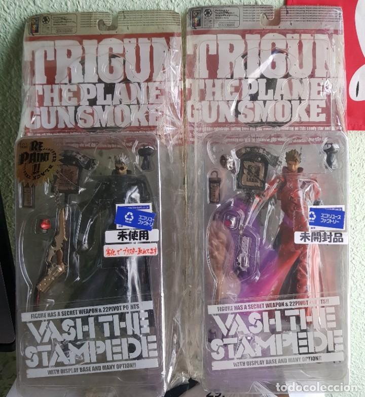 Figuras y Muñecos Manga: TRIGUN, VASH THE STAMPEDE 2001 (2 FIGURAS) (NUEVAS) - Foto 2 - 188551023