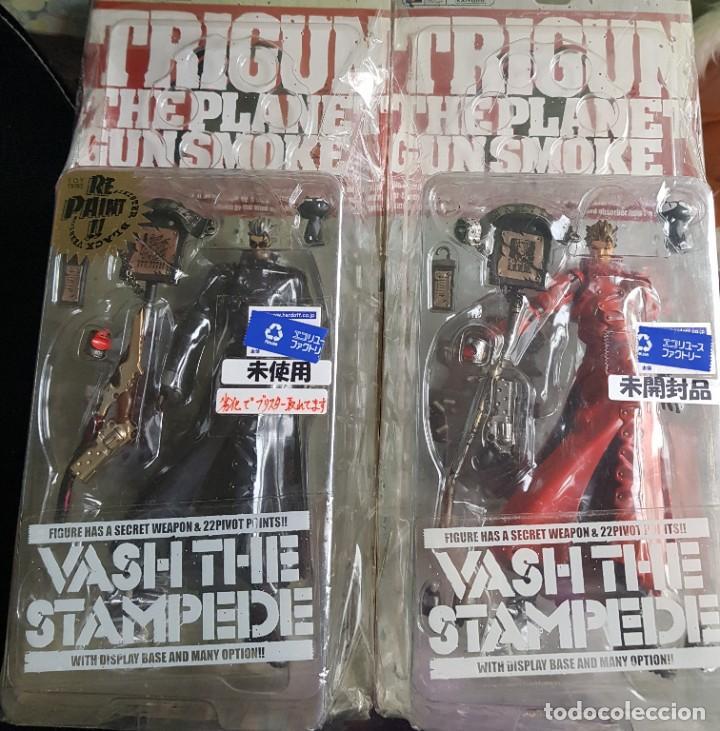 Figuras y Muñecos Manga: TRIGUN, VASH THE STAMPEDE 2001 (2 FIGURAS) (NUEVAS) - Foto 3 - 188551023