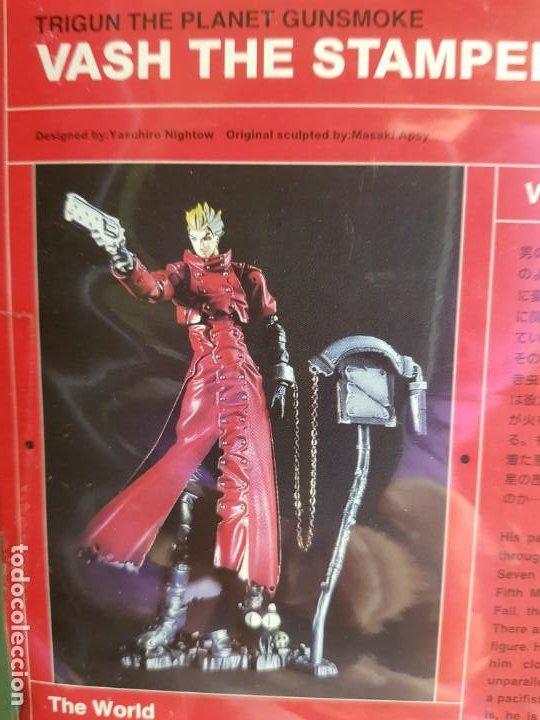 Figuras y Muñecos Manga: TRIGUN, VASH THE STAMPEDE 2001 (2 FIGURAS) (NUEVAS) - Foto 11 - 188551023