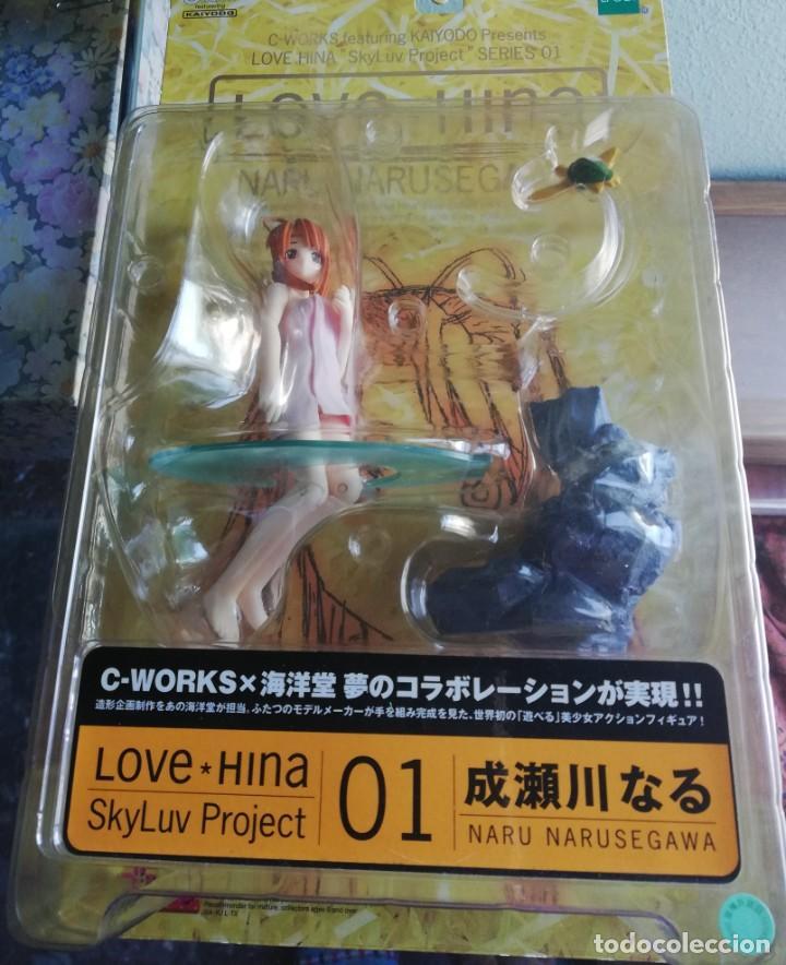 Figuras y Muñecos Manga: LOVE HINA NARU NARUSEGAWA 2002 serie 01 (NUEVA) - Foto 3 - 194183561